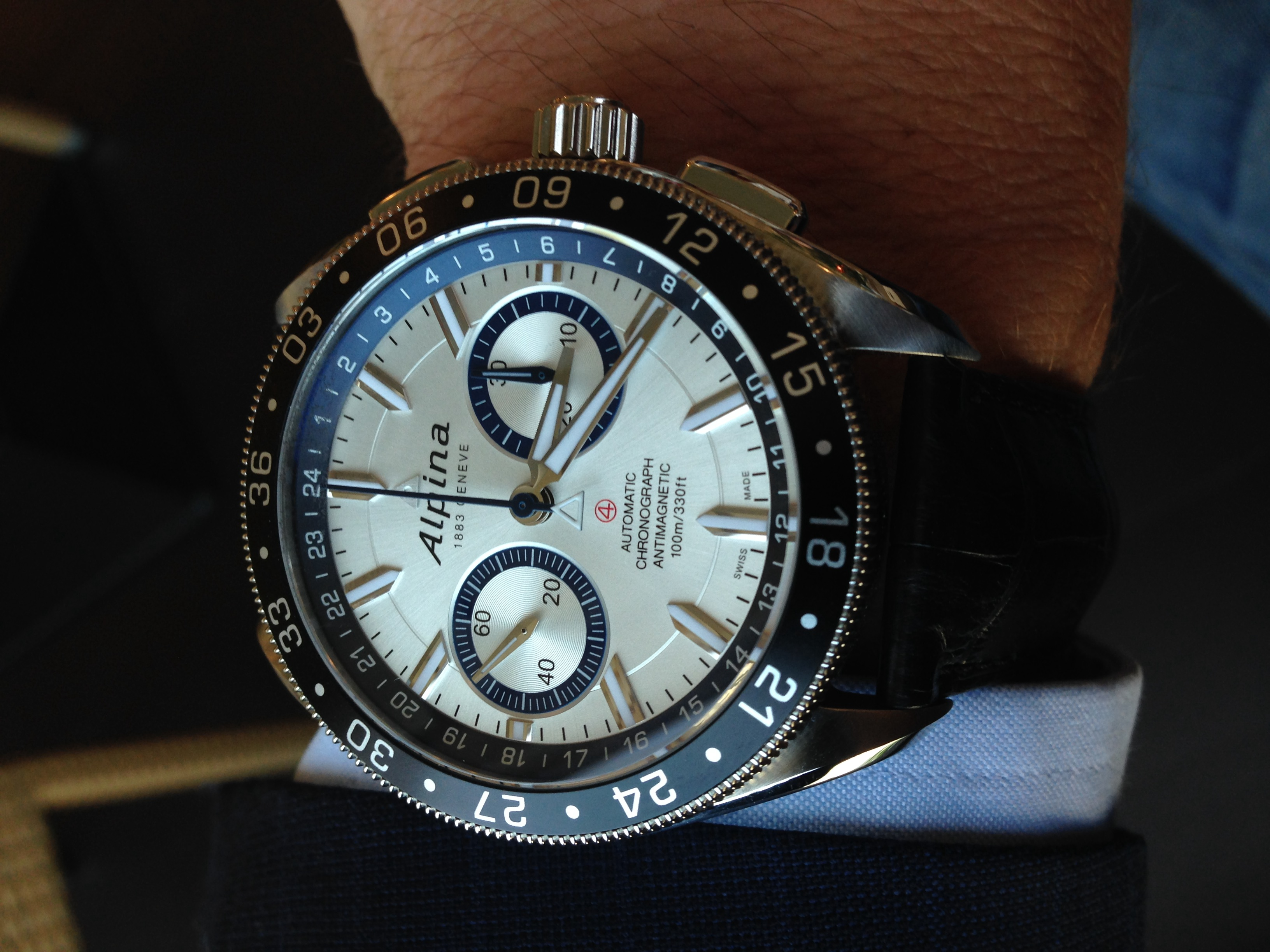 Montre Alpiner 4 Chronographe « Race for Water »