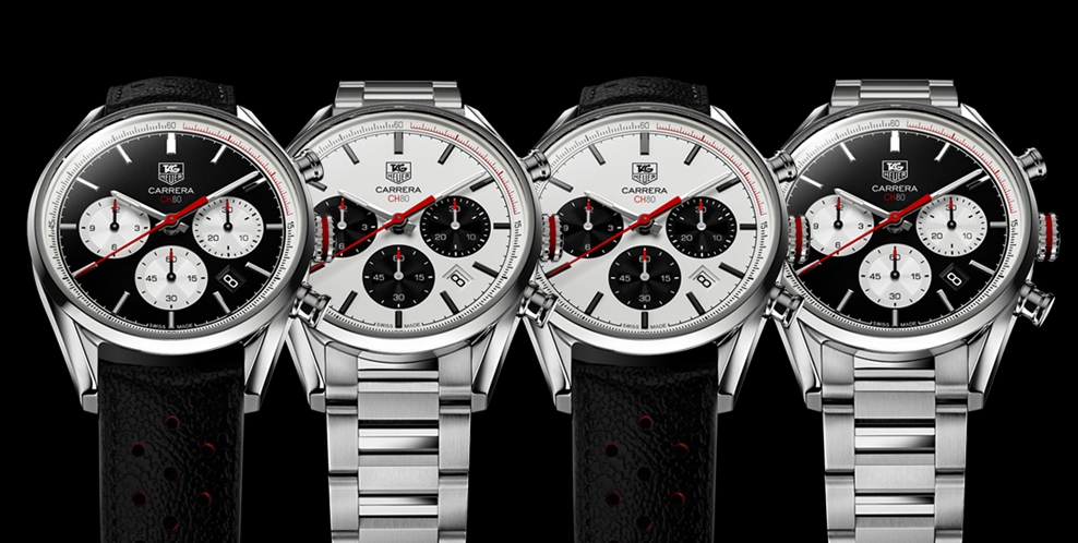 Chronographe TAG Heuer Carrera Calibre CH 80 - Baselworld 2014 TAG Heuer