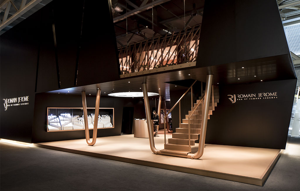 Pavillon RJ - Romain Jerome à Baselworld 2014????