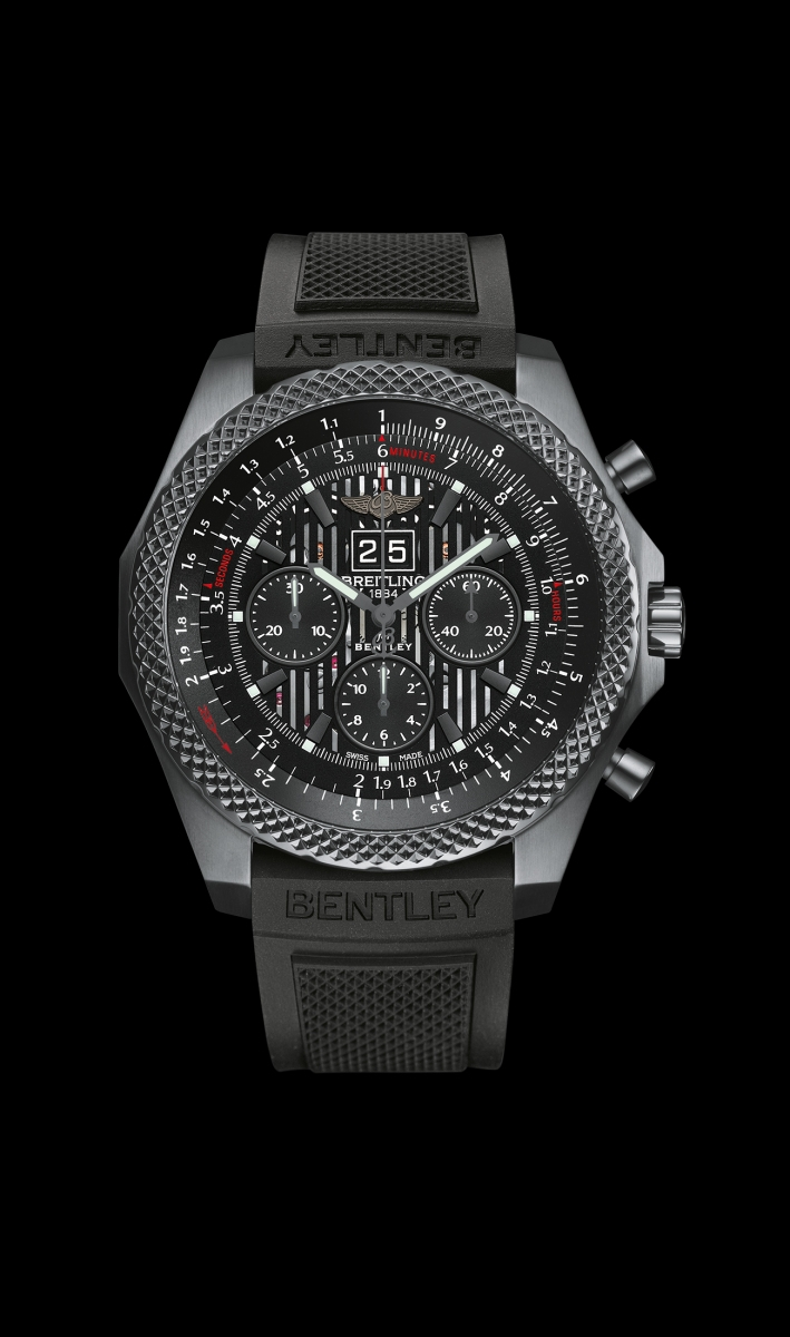 Montre Breitling Bentley 6.75 Midnight Carbon