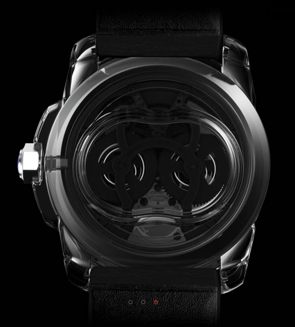 Concept Watch ID TWO signé Cartier