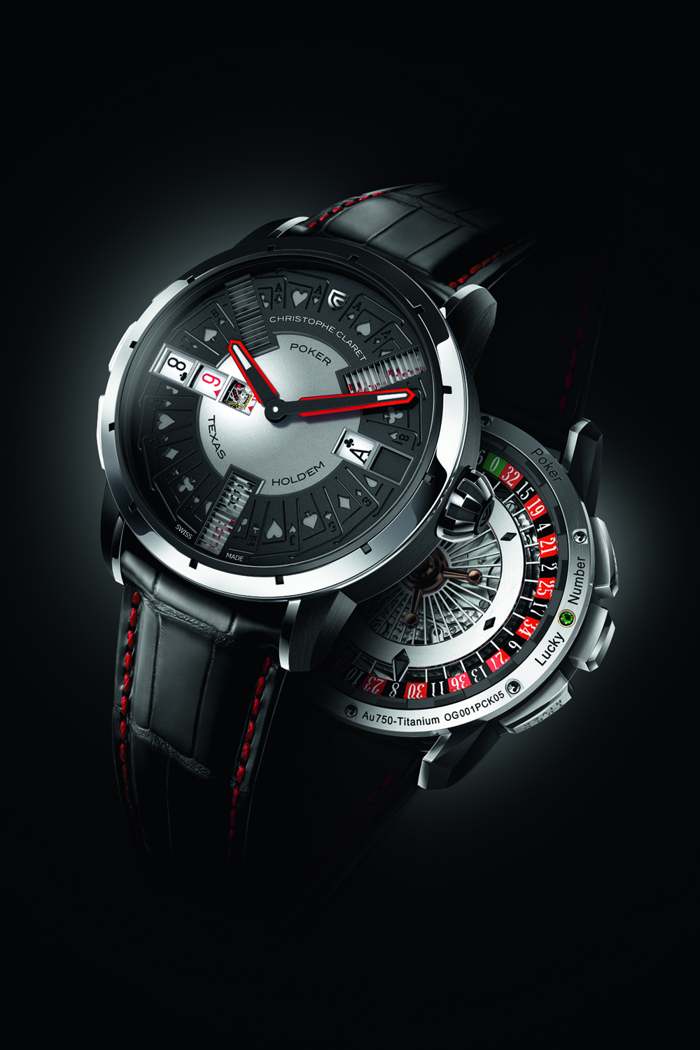 Montre poker Christophe Claret