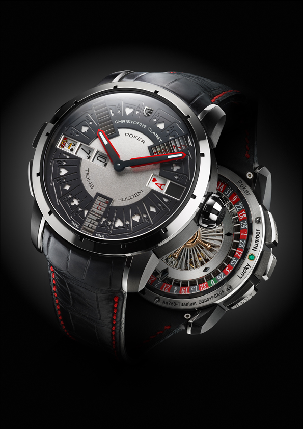 Montre Poker de Christophe Claret