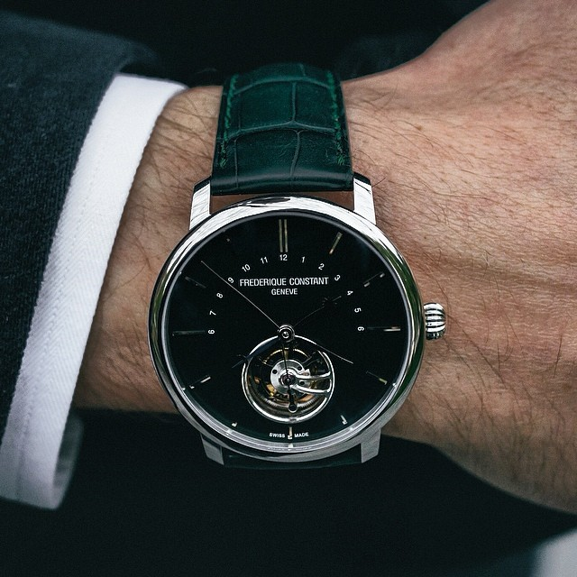 Montre Frédérique Constant Slimline Tourbilllon Manufacture Limited Edition
