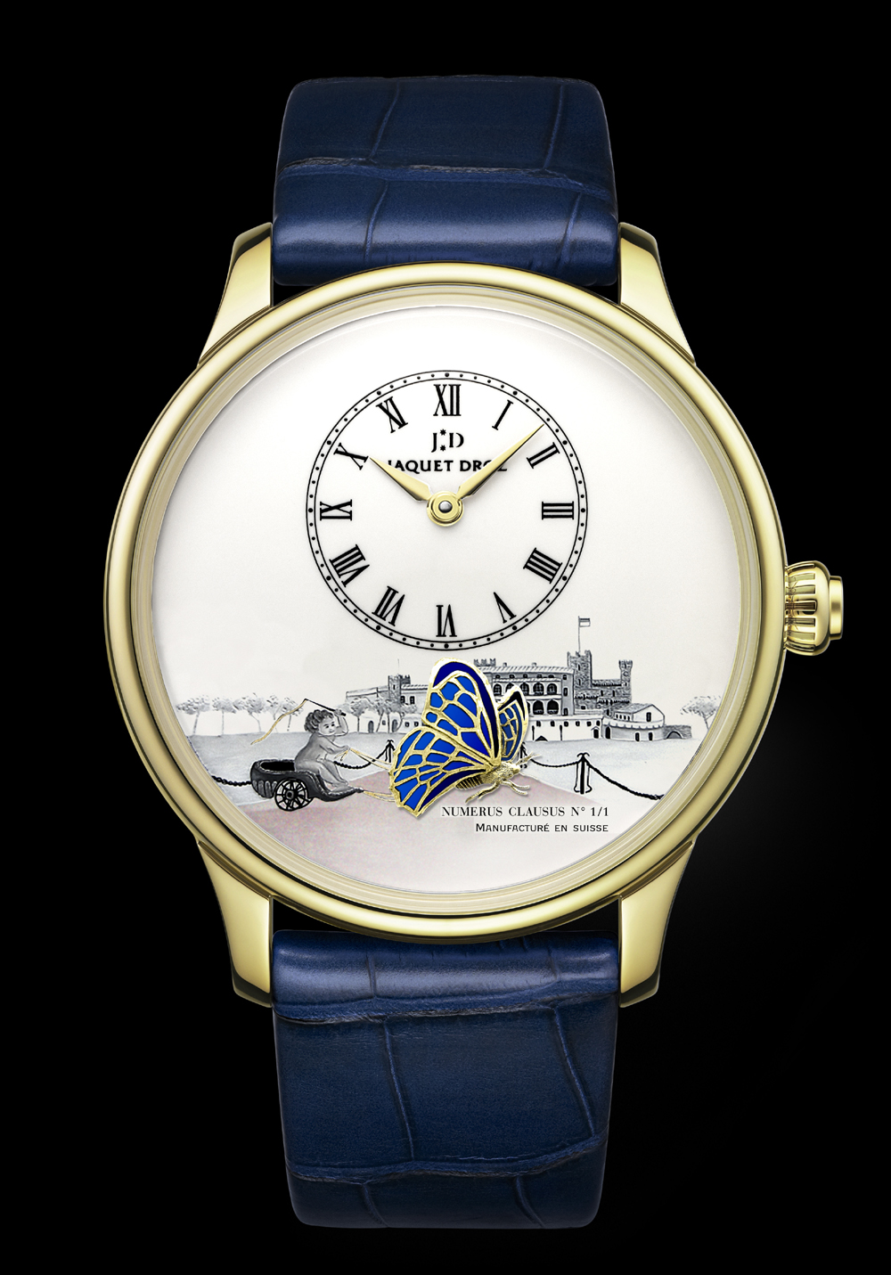 Montre Jaquet Droz The Loving Butterfly pour Only Watch 2013