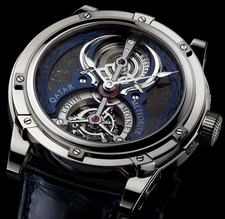 Montre Louis-Moinet-Qatar-Tourbillon
