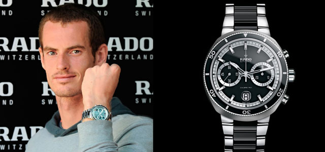 Montre Andy Murray