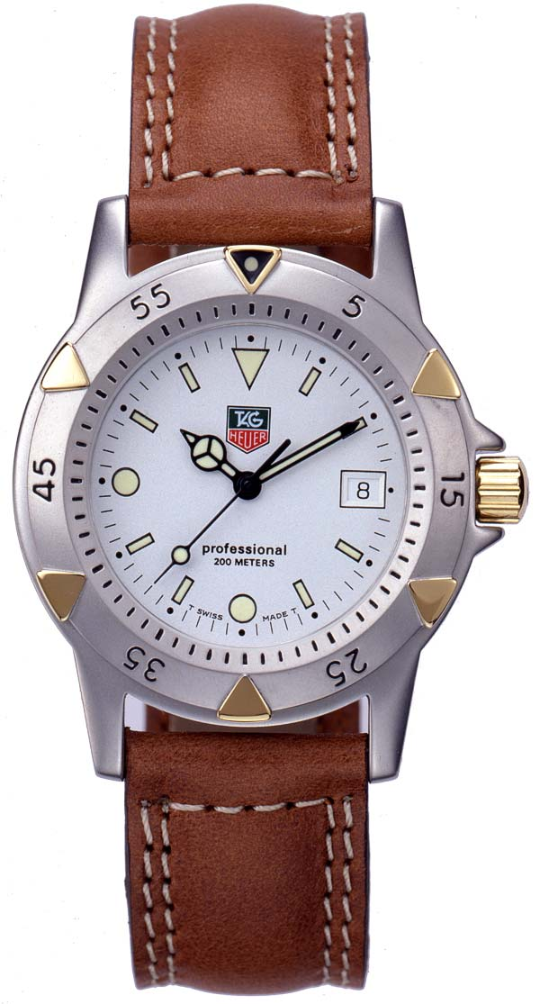 montre de Barack Obama TAG Heuer 1500 Two-Tone Divers