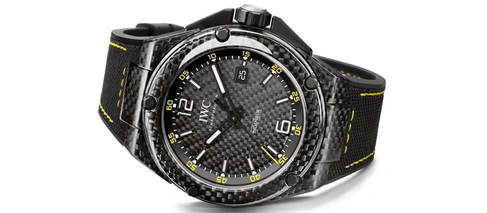 La montre IWC Ingenieur Automatic Carbon Performance ...
