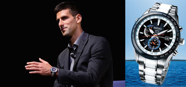 Montre Novak Djokovic