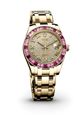2014L'oyster De Pearlmaster 34 Datejust Perpetual Baselworld dBeCxo