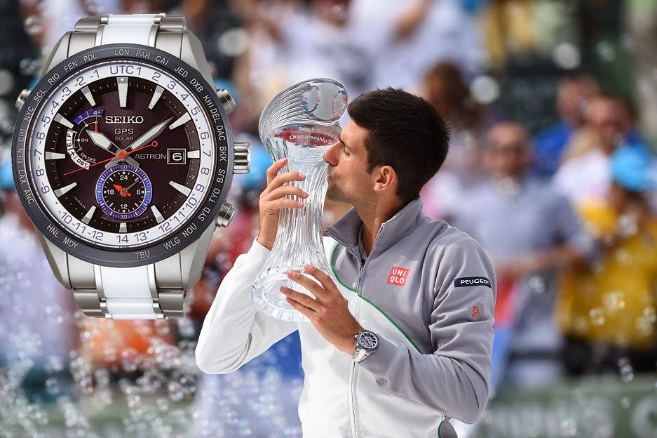 Montre Novak Djokovic Seiko