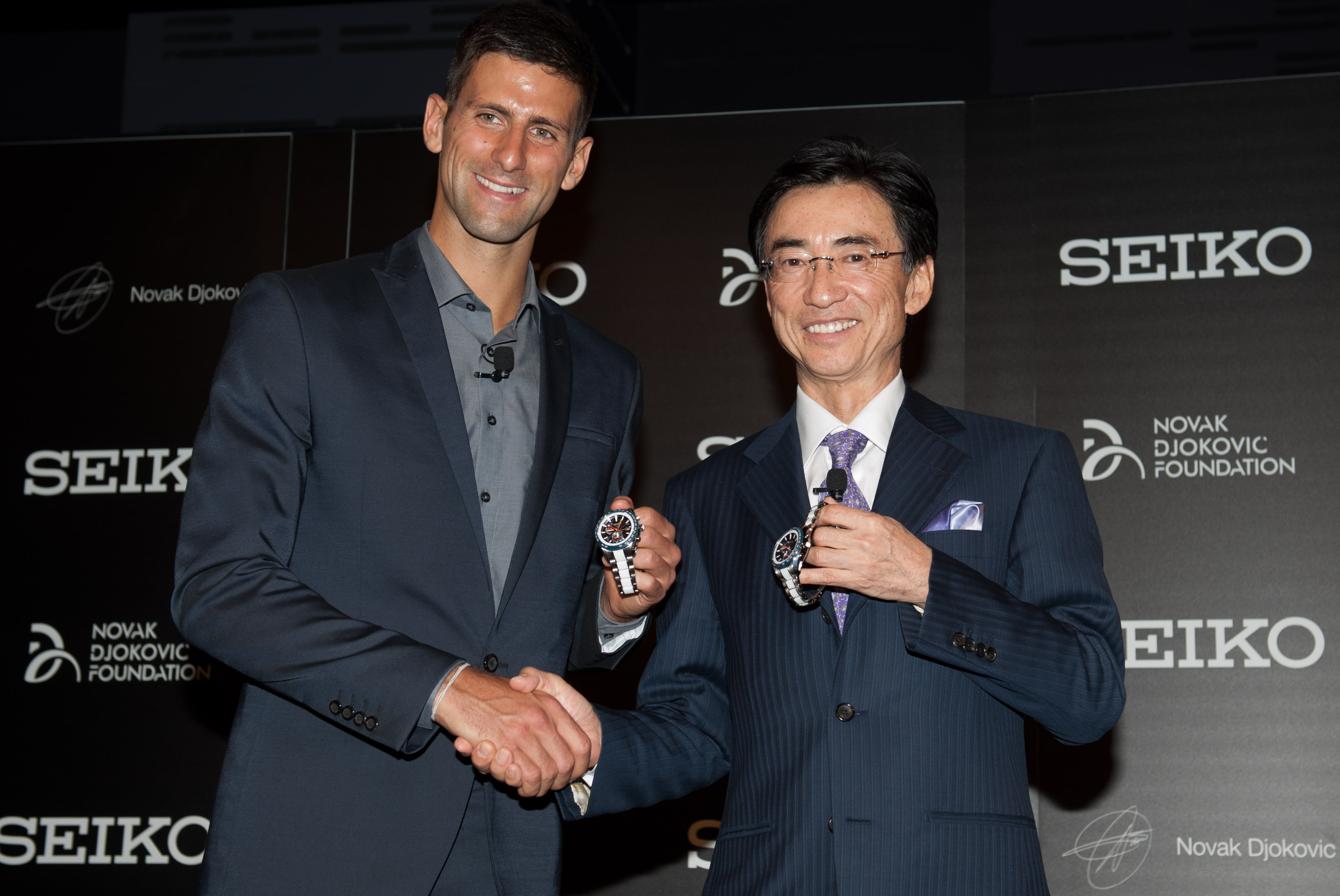 Montre Seiko Novak Djokovic