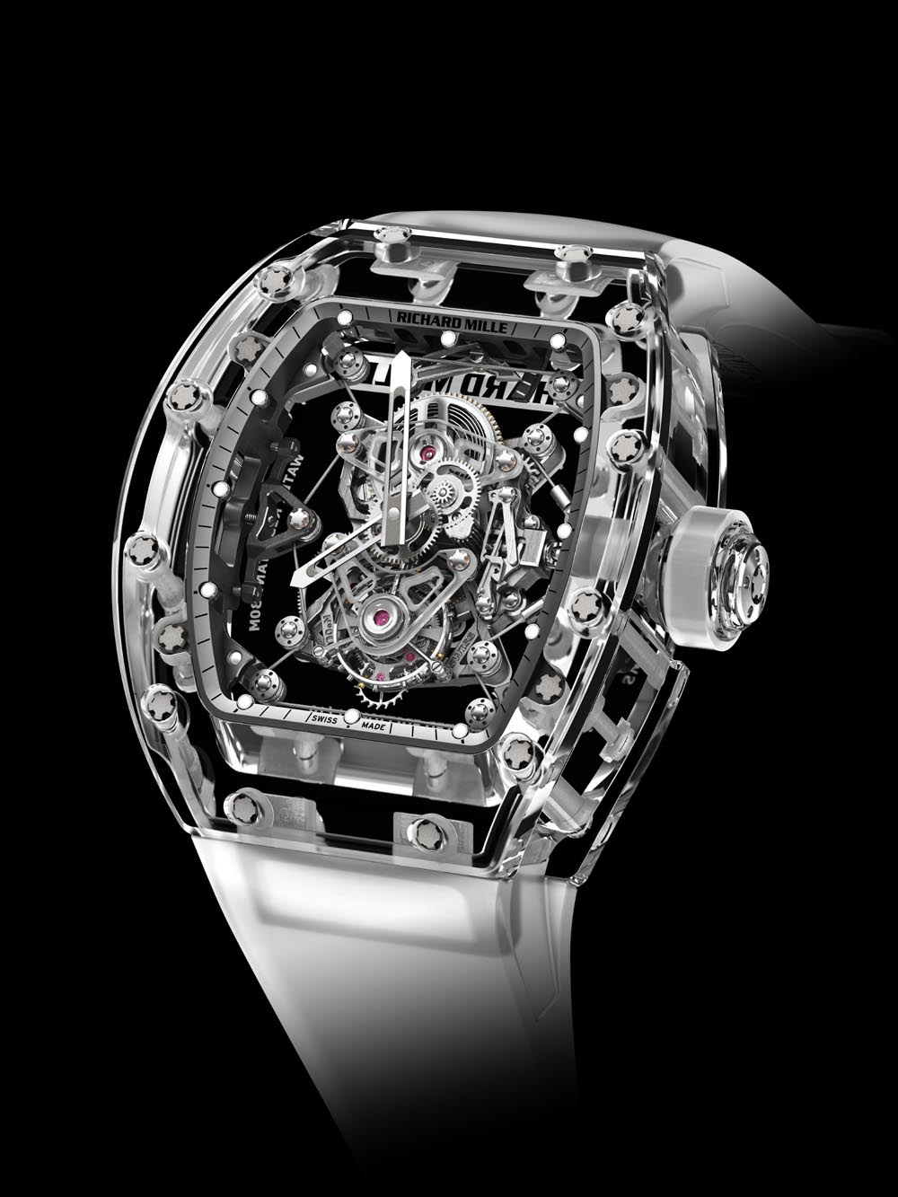 Montre Richard Mille Tourbillon RM 56-02 Saphir