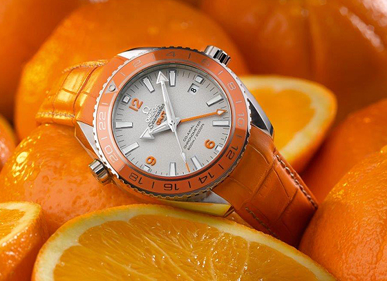 Omega Seamaster Planet Ocean Orange Ceramic