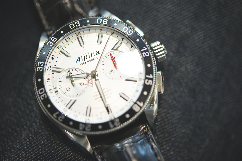The Alpina Alpiner 4 Chronograph
