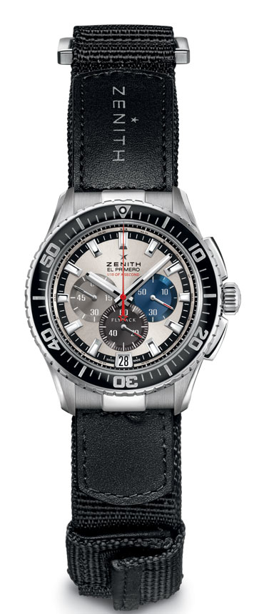 Only Watch 2013 de Zenith : El Primero Flyback Striking 10th Tribute to Felix Baumgartner