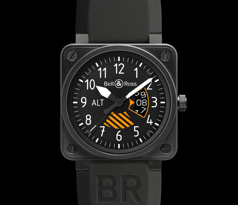Montre du coffret Bell & Ross pour Only Watch 2013