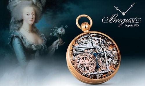 La montre Breguet Marie-Antoinette, l'histoire d'une montre d'exception |