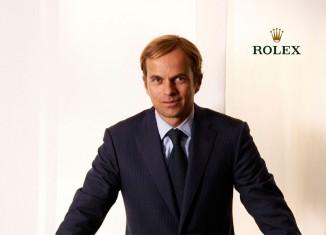 Le nouveau patron de Rolex : Jean-Frédéric Dufour