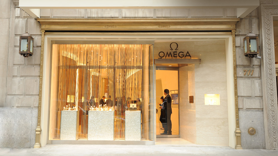 Boutique Omega à New-York