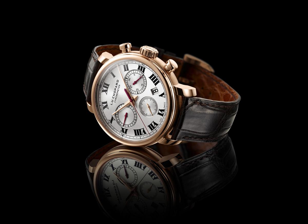 Chronographe : Chopard L.U.C 1963 Chronograph (39 500 CHF)