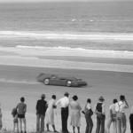 Record en 1935 de Sir Malcolm Campbell à 445 km/h sur la plage de Daytona