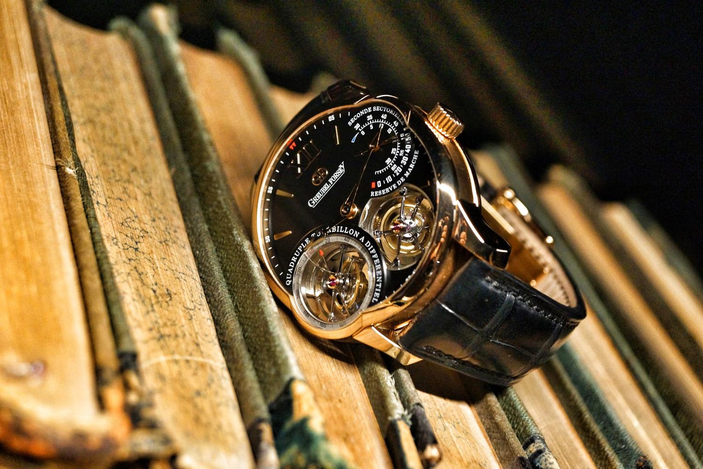 Formes de montres de luxe