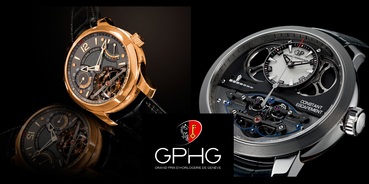 GPHG, les montres ayant remporté le prix de l'Aiguille d'Or