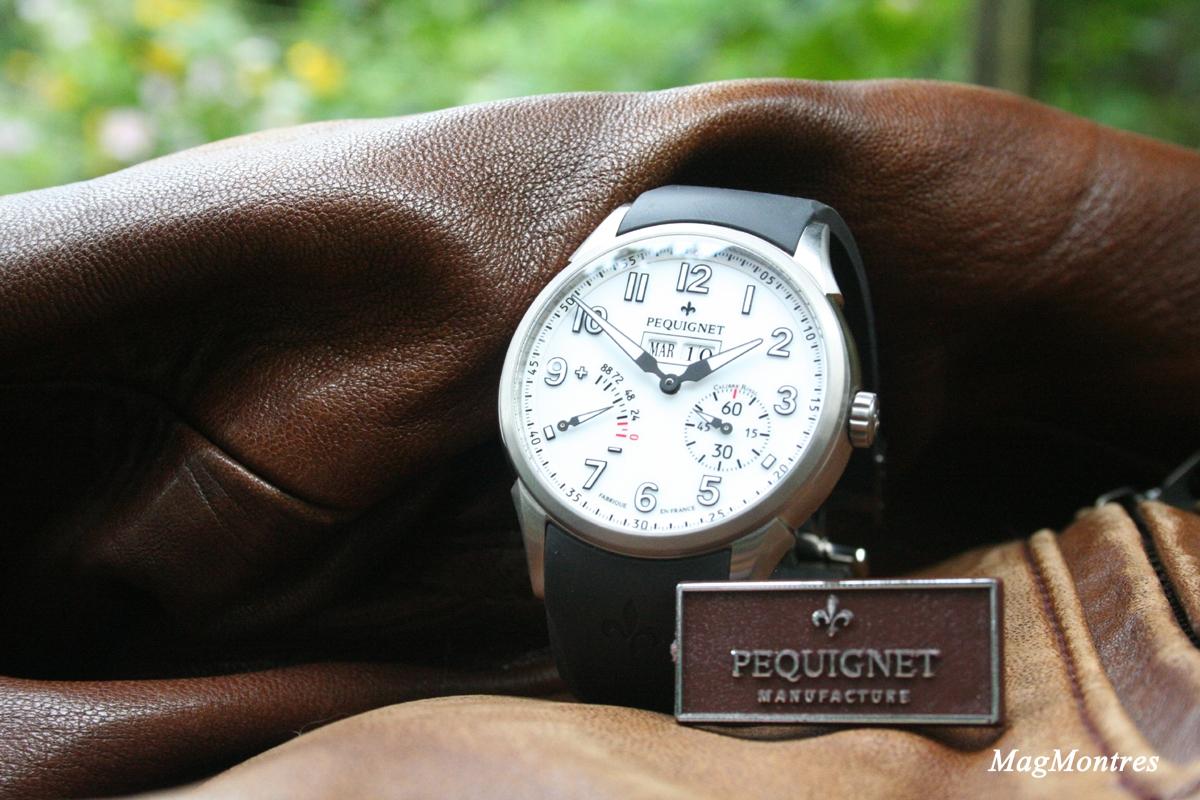 Montre Manufacture Royale Titane, bracelet en caoutchouc – Référence 9032713F/30