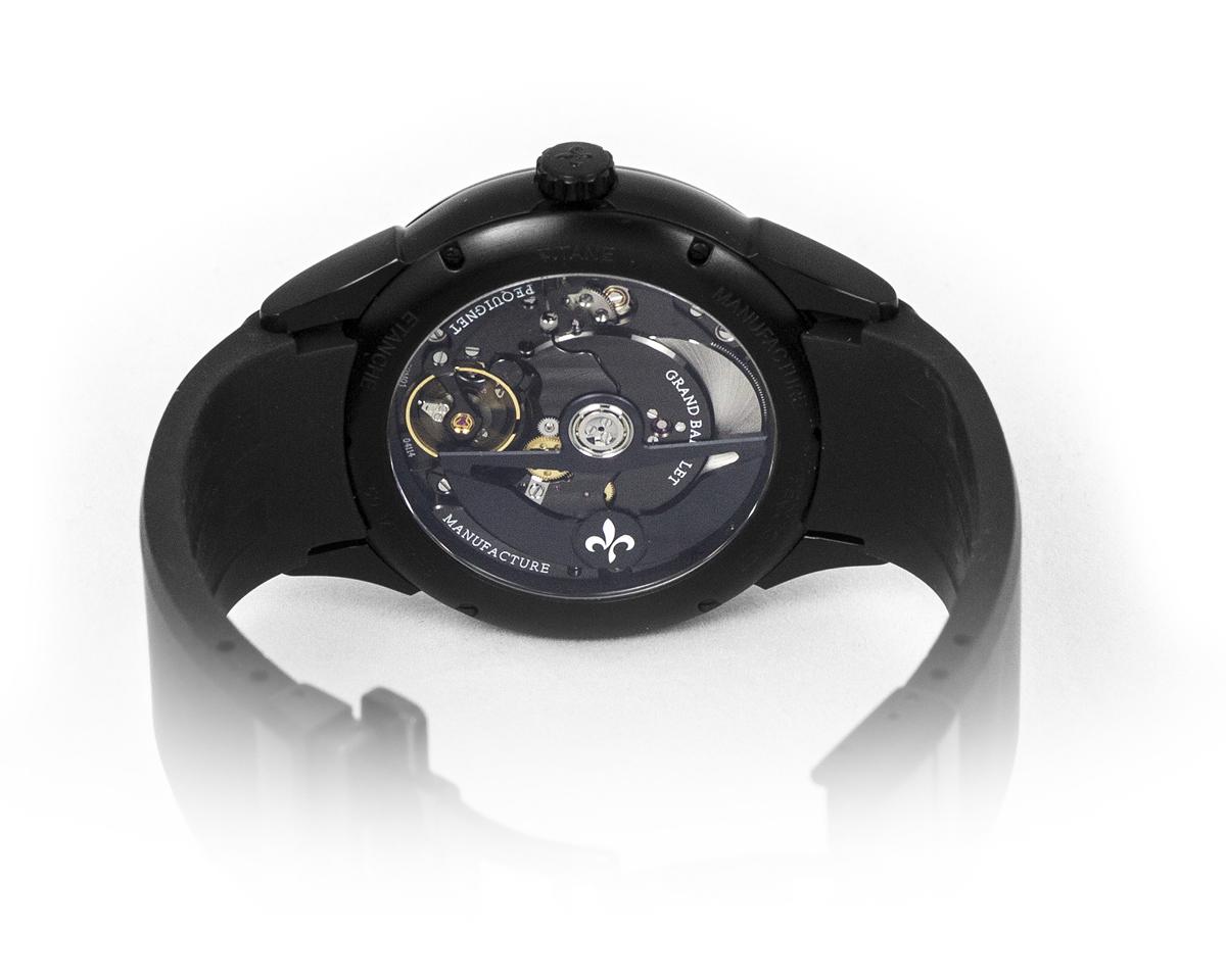 Montre Pequignet Royale Titane - Grande Date- Calibre Noir