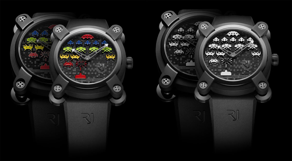 Montres Romain Jerome Space Invaders