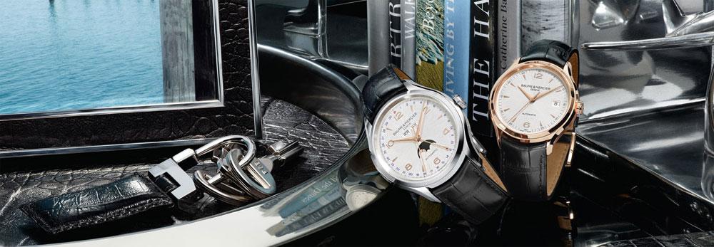 Montres de la collection Clifton - Baume & Mercier