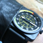 Montre BR01 AirSpeed au poignet - Bell & Ross