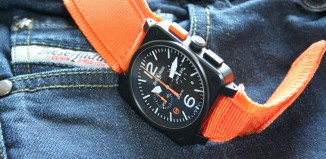 Montre BR 03-94 Carbon-Orange Ltd - Bell & Ross