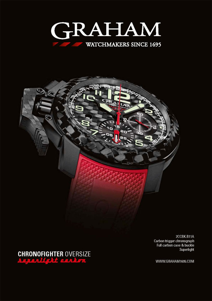 Montre Graham Chronofighter Superlight Carbon