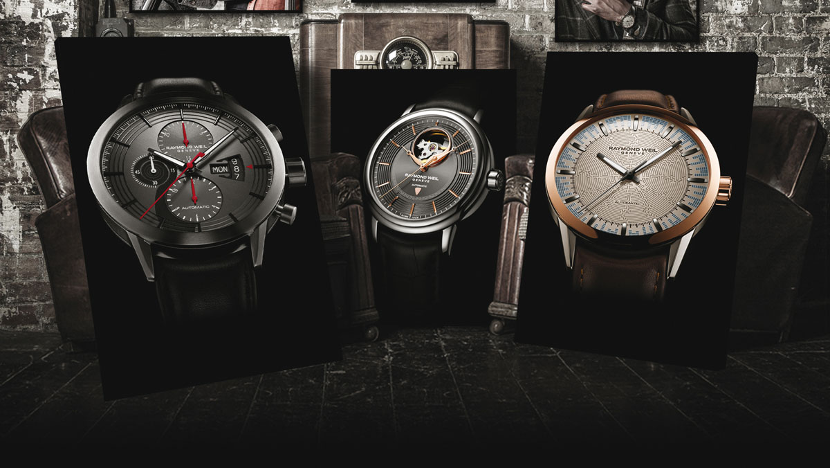 Montres Raymond Weil « Music Special Editions »