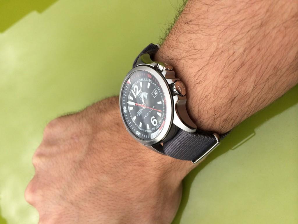 Montre Hamilton Khaki GMT