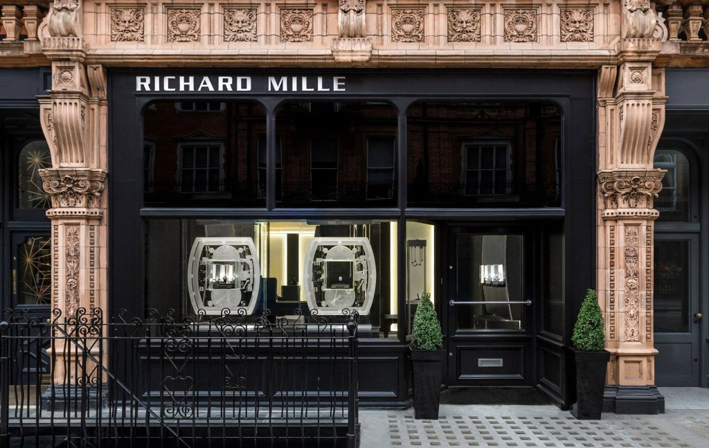 Boutique Richard Mille à Londres