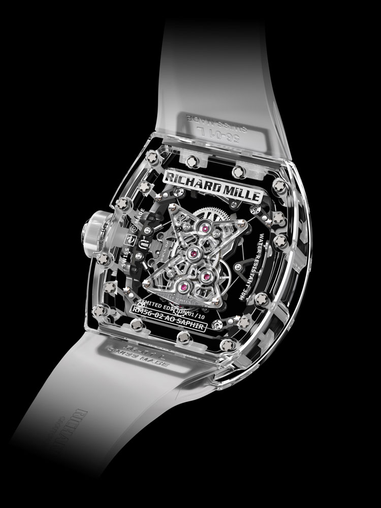 Montre RM 56-02 Tourbillon Saphir - Richard Mille