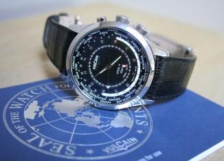 Montre Vulcain Aviator GMT - 100135.220LF