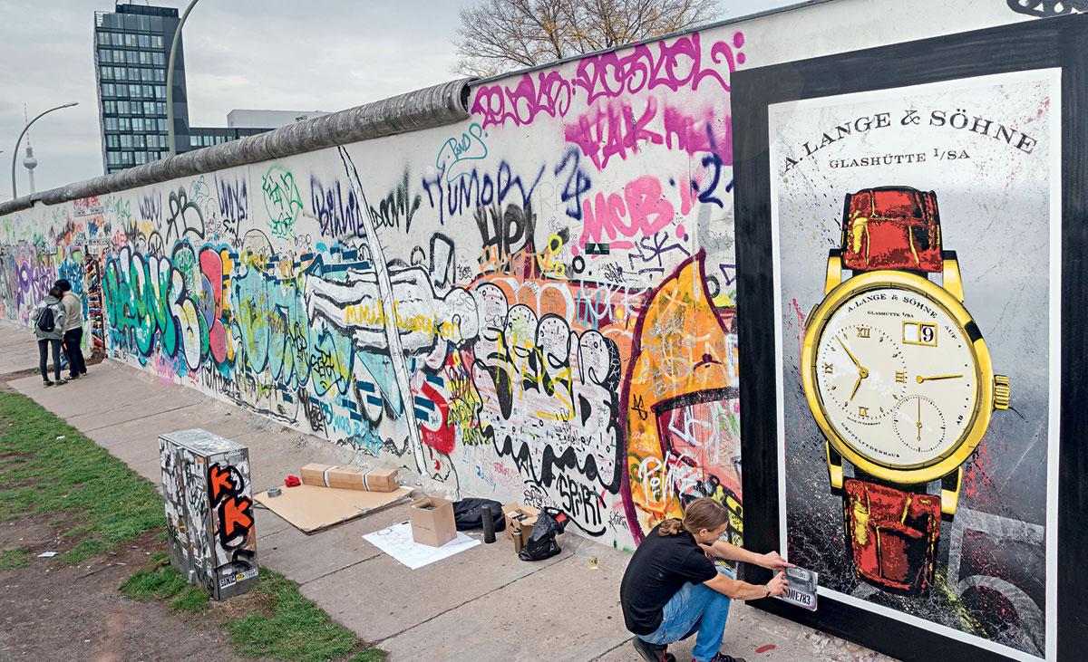 A. Lange & Söhne a commémoré les 25 ans de la chute du mur de Berlin