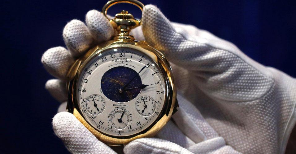 Montre la plus chère du monde vendue lors d'une vente aux enchères - La montre Patek Philippe Supercomplication Henry Graves