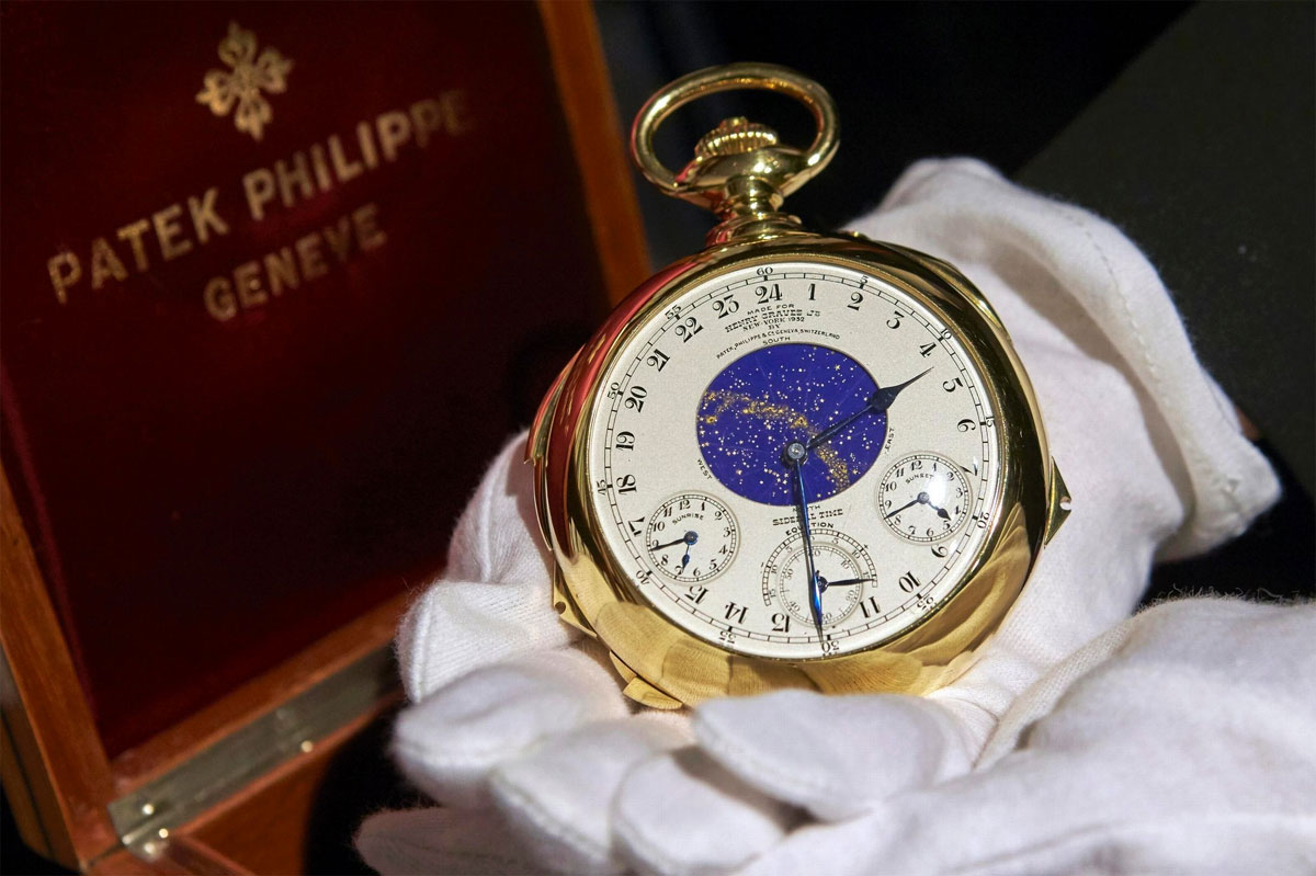 Patek Philippe Supercomplication Henry Graves