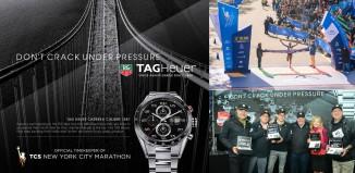TAG Heuer mise sur les marathons