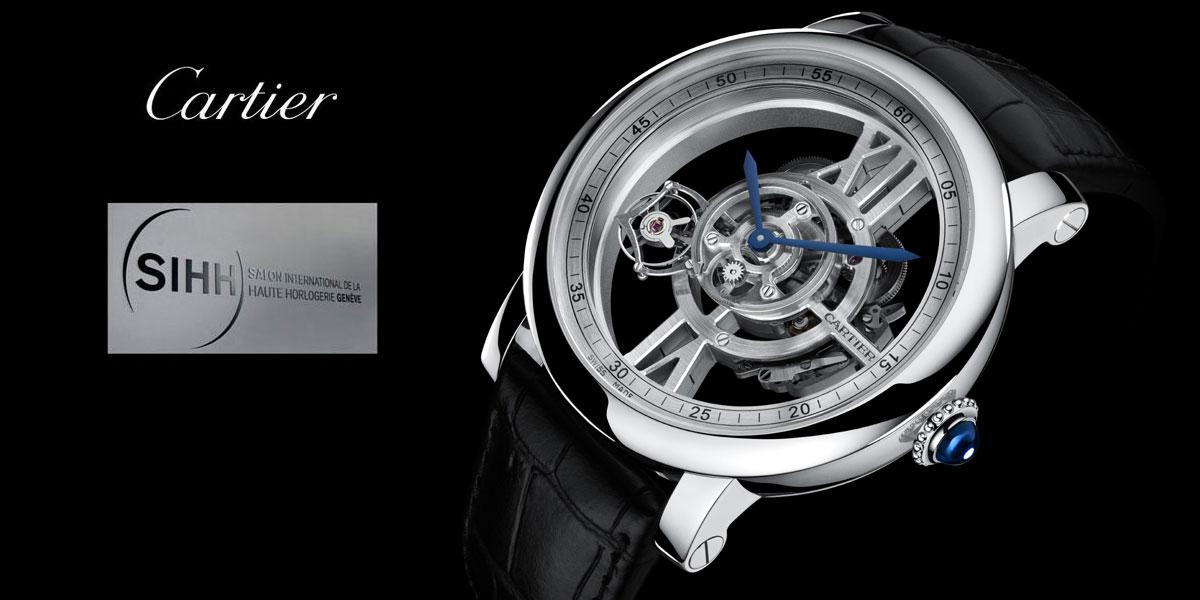Cartier Rotonde AstroTourbillon Squelette Calibre 9461 MC - SIHH 2015
