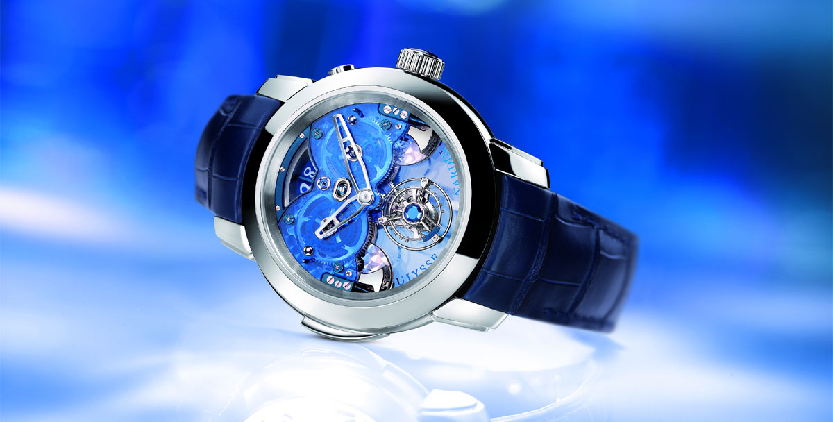 Montre Imperial Blue - Ulysse Nardin