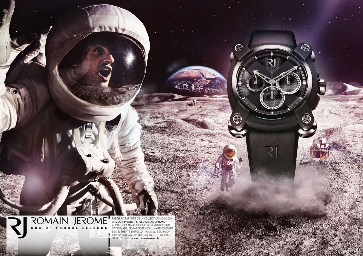 Montre Moon Invider