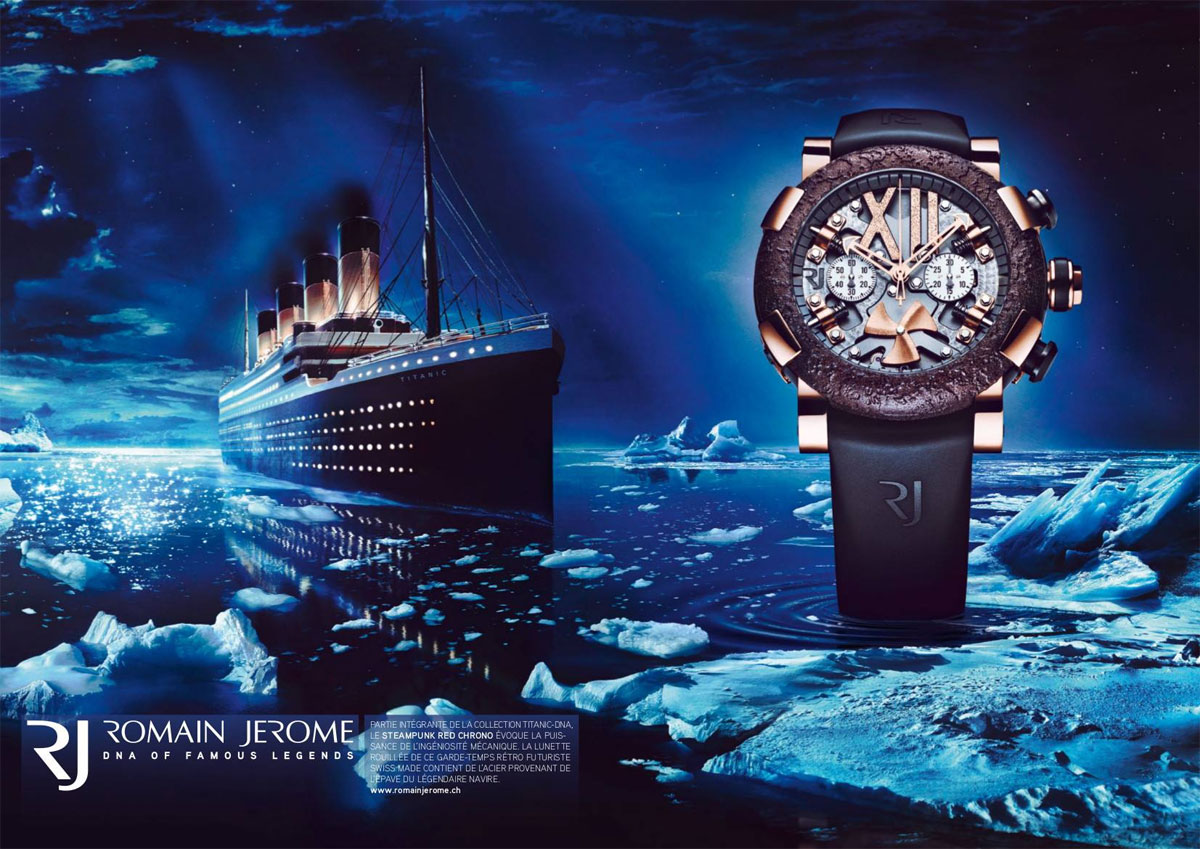 Montre Titanic DNA