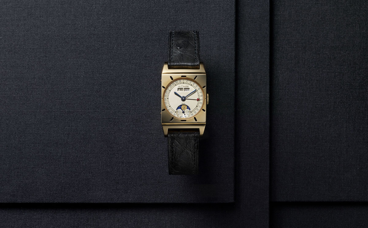 1949. Montre calendrier Jacques-David LeCoultre